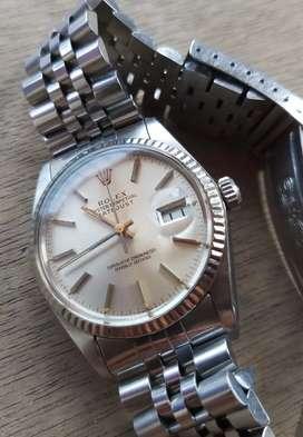 rolex 16014 cal 3035 silver dial all original