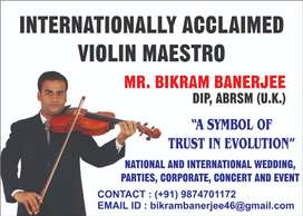 Best Violin Teacher in Kolkata