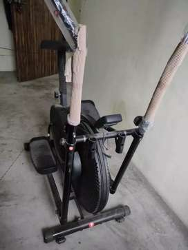 Stepper cycle gym auto matic