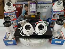 CCTV SPC 2Mp 4 kamera Rp 1.5OO.OOO Gratis pasang