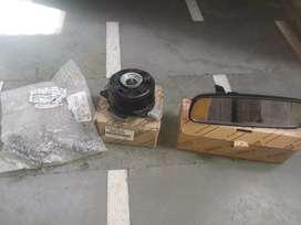 Fan motor clutch cylender mirror under car toyota innova
