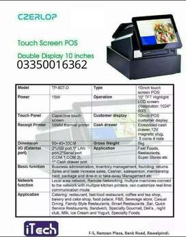 Touch Ecr Double Display Machine