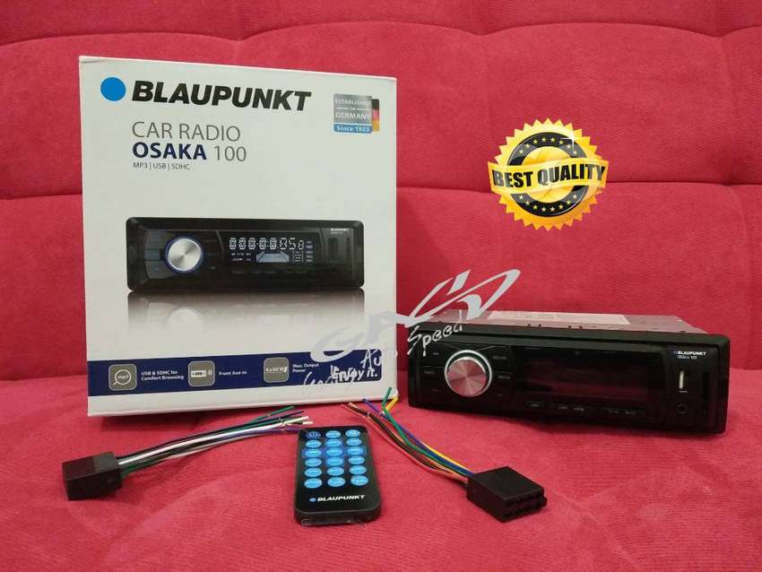SINGLE DIN Blaupunkt Osaka 100 Digital Media Receiver USB AUX SD CARD 0