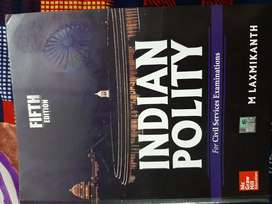 Indian Polity(Fifth Edition)By M Laxmikanth For Civil Services Exam