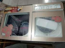 Jual mesin cuci AKARI 12 KG DUAL TABUNG STAINLLES