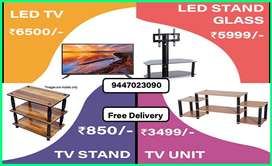 47 TV STAND   TV UNIT   LED STAND   GLASS TV STAND l LED TV.
