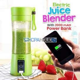 Rechargeable juicer blender with Sharp blades