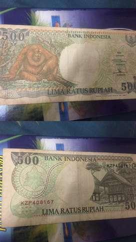 Uang kuno bagus