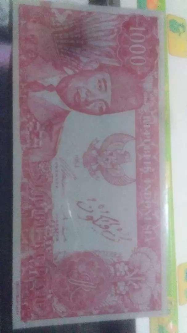 Duit Presiden Soekarno bisa melengkung Rp 1000 th 1964 0