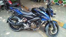 Bajaj pulsar NS 200,150 top speed