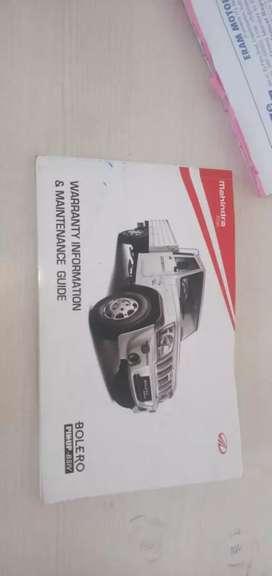Mahindra new bolero pickup  and driver available
