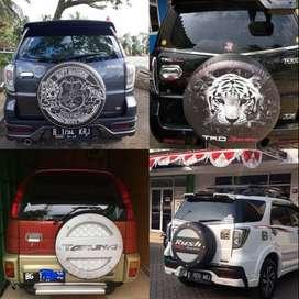 Cover/Sarung Ban Jeep/Rush/Terios/Touring/Ecosport Sendiri KeceOke gam