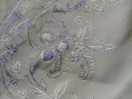 Fully Hand made embroidered stitched suits untouched