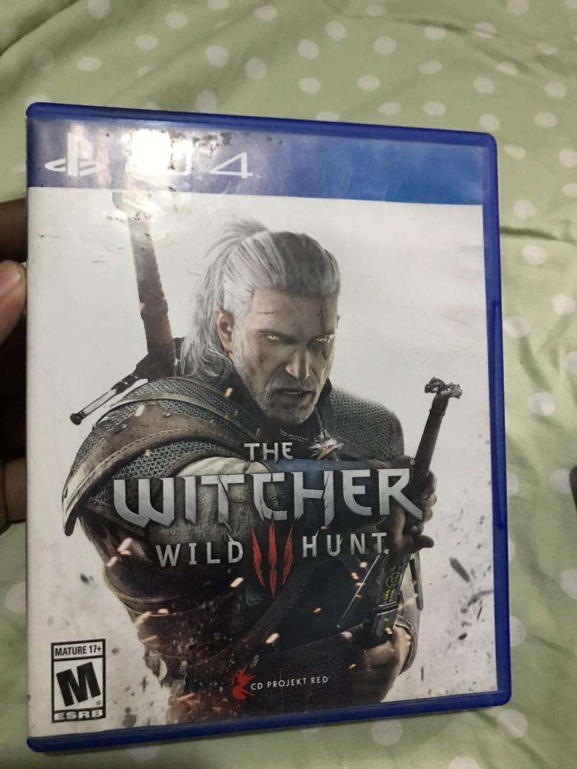 The Witcher 3 PS4 0