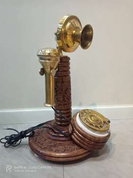 Old Wooden Telephone (Working)