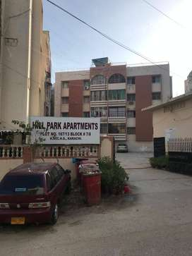 3 Bed DD Apartment for Sale Shaheed-e-Millat Hill Park Tariq Road