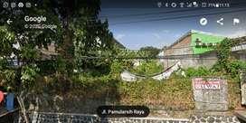 Disewakan Tanah di Pamularsih Semarang