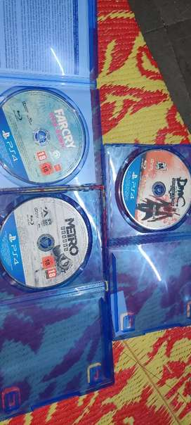 Ps4 games cds