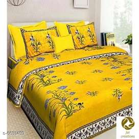:*Attractive Cotton 100 x 90 Double Bedsheets*