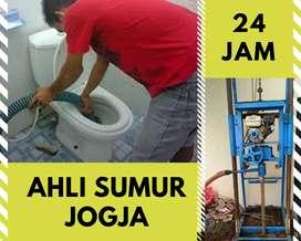 Servis pompa air tukang sumur bor gali suntik saluran mampet sedot wc