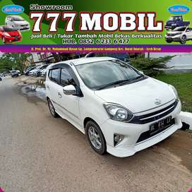 Toyota Agya TRD S Metik  2014 bisa proses kredit bisa tukar tambah 777