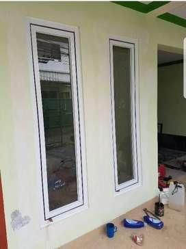 Disini pembuatan jendela kaca alumunium
