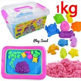 Mainan play sand 1kg