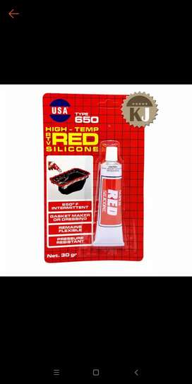 Lem red silicon