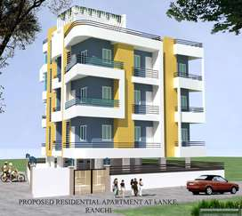 Ready to move in apartment for sale, timber lane, kanke, Ranchi