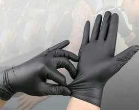 Sarung tangan hitam