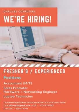 Urgent Vacancy