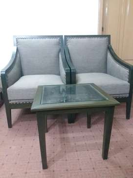 Table and chair set available at a very good price