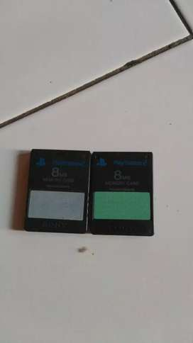 Memori card ps2