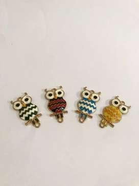 Brooch owl set isi 4
