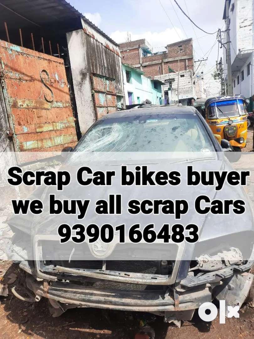Cars/Bikes/Scrap/Buyer/we buy all scrap vehicle