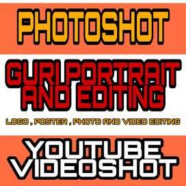 Photoshot ,videoshot , photo editing , video editing