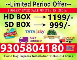 Offer Started TATA SKY Lowest price in India Guarantteed