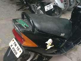Honda Dio self modify scooter at