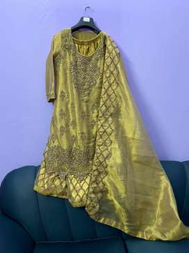 Wedding dress or partywear sharara
