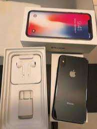 Rarely used iPhone X in 256 GB ROM with all accessories on EMI