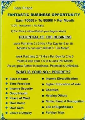 Fantastic business opportunity