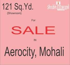 121 Gaj Showroom available for sale in GMADA AEROCITY, Mohali