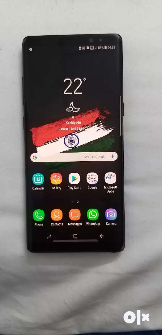 Samsung Note 8 6gb 64gb warranty over this month end 0