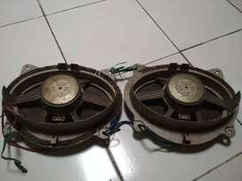 Sepasang speaker oval original