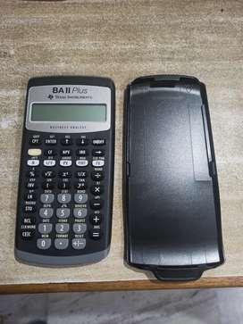 BA 2 Plus financial calculator