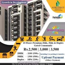 HMDA approved flats for sale at kistareddy peta