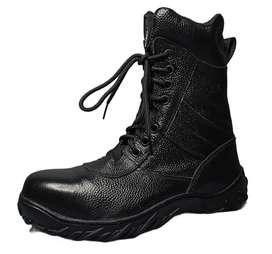 Sepatu PDL Kulit Jeruk Safety ( Ujung Besi )