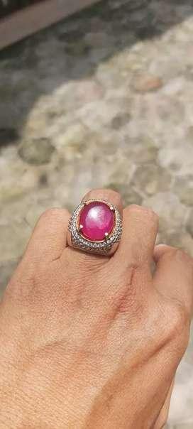 Cincin Batu Rubi