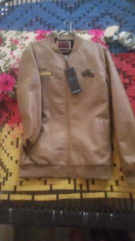 New China Lether jacket For Man