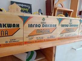 Kotak Infaq Kayu